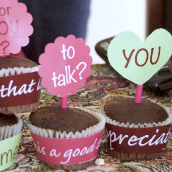 Relationship Cupcake Wrappers + Toppers - Click Image to Close